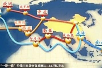 """الصين تكشف عن خريطة """" الحزام والطريق"""" للمرة الأولى"""
