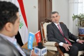 السفير العراقي الجديد: مبادرة الحزام والطريق تخدم السلام الدولي وخاصة في منطقة الشرق الأوسط