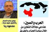 العرب والصين: هذه هي مجالات التعاون من خلال مبادرة الحزام والطريق